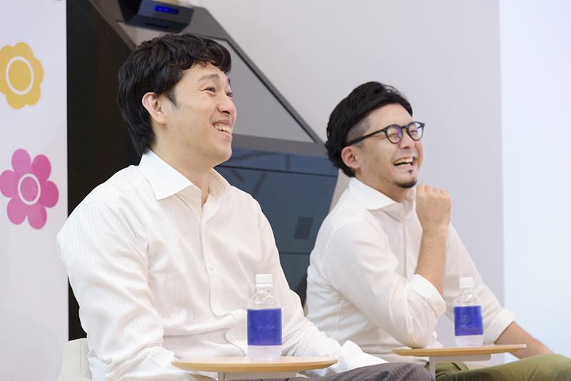 イノラボの野崎さん(左)と阿部さん