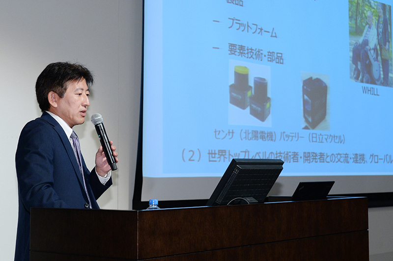 経済産業省製造産業局産業機械課ロボット政策室 安田篤室長