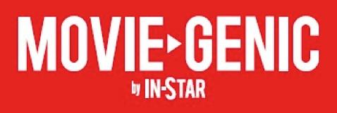 「MOVIE GENIC」ロゴ