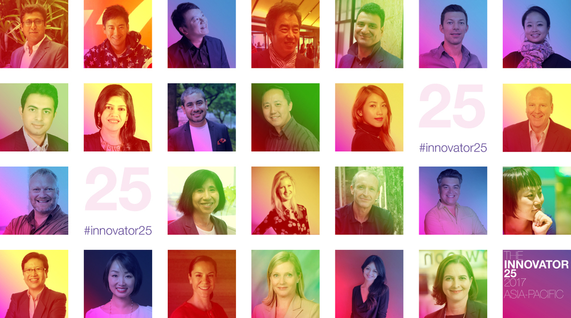 The Innovator 25 Asia-Pacific 2017
