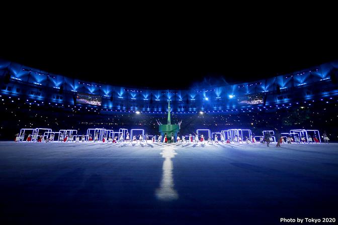 リオ2016オリンピック大会閉会式東京2020フラッグハンドオーバーセレモニー
