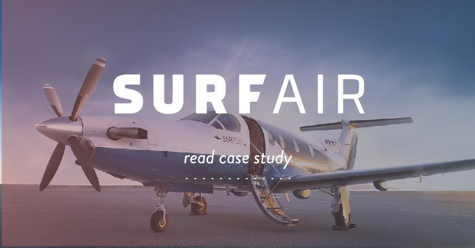 【実例1】航空機の月額定額(乗り放題)サービスを提供する「SURF AIR」