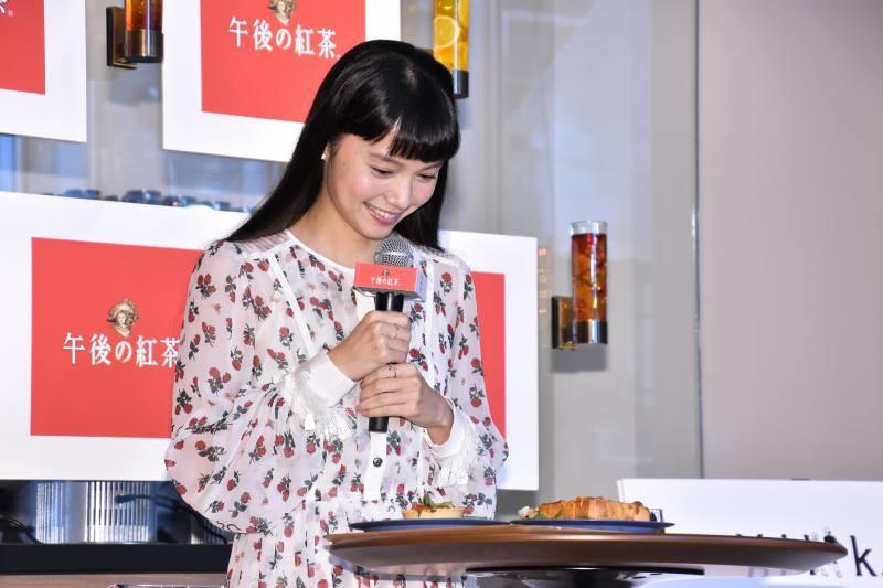 宮﨑あおいさん笑顔