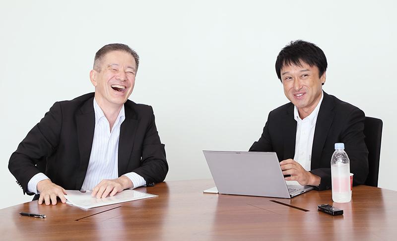 左から、奥律哉氏(電通)、太田正仁氏(日本テレビ)