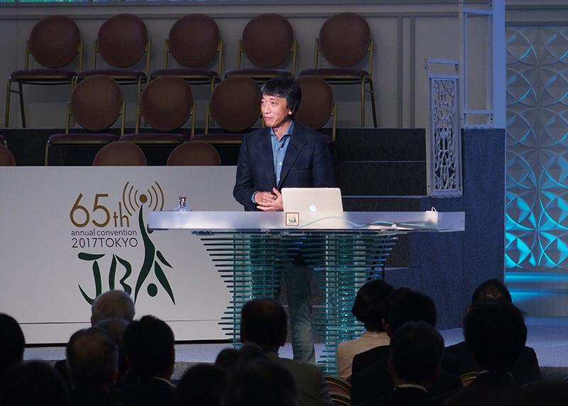 阿部氏による記念講演