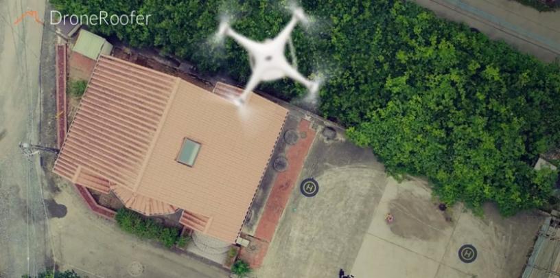 クルー社が開発する日本初のスマートフォンで動かすドローン屋根撮影アプリ「Drone Roofer」