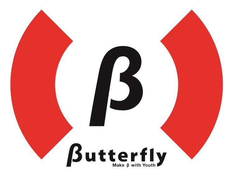 βutterflyロゴ