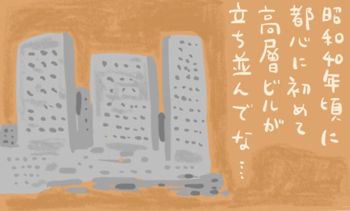 ショーワン10-5 昭和40年代に都心に初めての高層ビルが立ち並んで