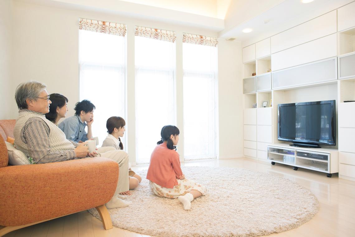 テレビ受像機で見るネット動画