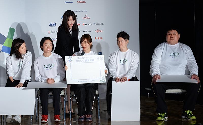 (左から)一ノ瀬、髙桑、豊田、古澤、正木の各選手