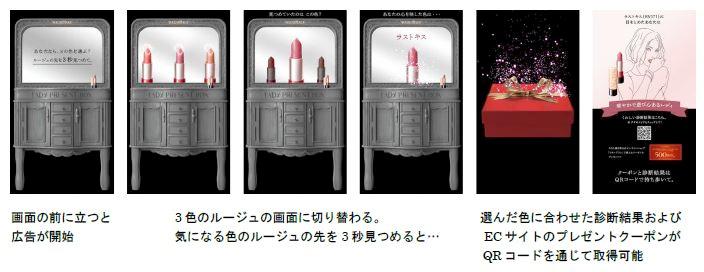 MAQuillAGE」の広告イメージ