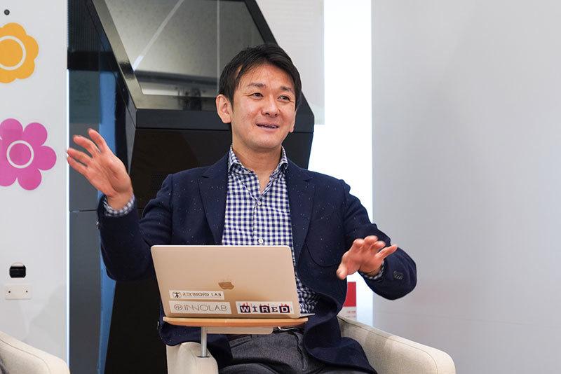 イノラボチーフプロデューサーの森田浩史さん