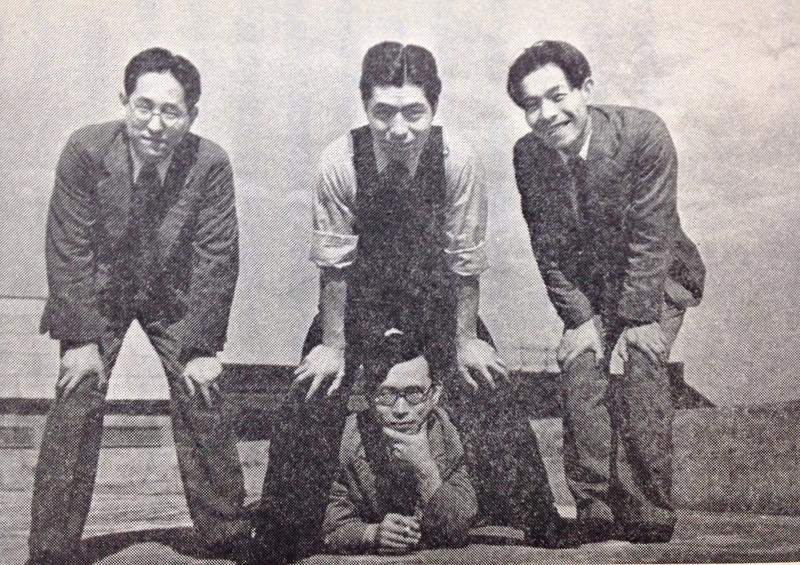 昭和13年に撮影した青春の1枚