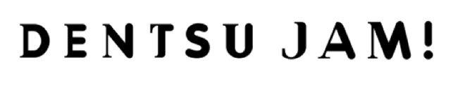 「DENTSU JAM!」ロゴ