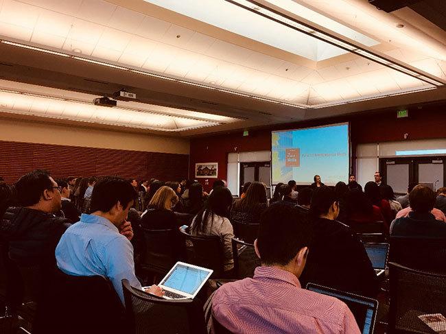 カンファレンスにはジャーナリストを中心に、メディア関係者、学生ら200人ほどが参加。メディア側の参加者がこちら:The Information、Quartz、IRIS.TV、Facebook、Matter、Mashable、Verizon