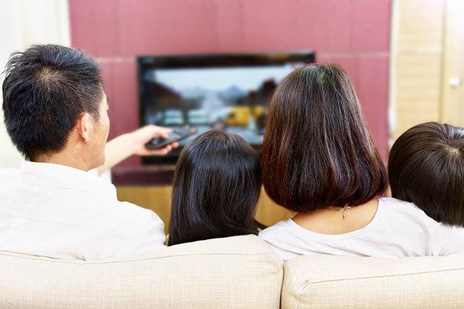 ネットにつながるようになったテレビ