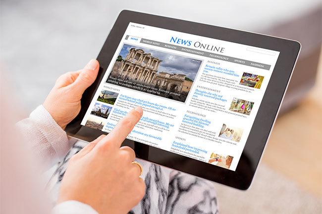ラジオ、新聞、雑誌が次々とデジタル化