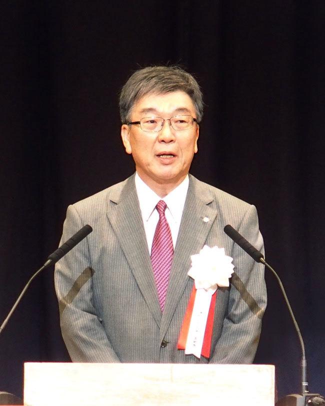 船木実行委員長による開会宣言
