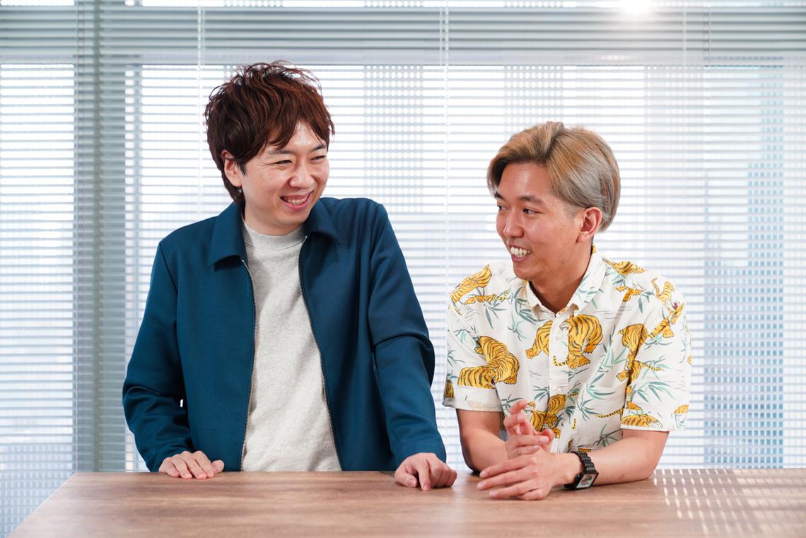 左から天野彬氏(電通メディアイノベーションラボ)、崔智安氏(Snow Corporation 日本統括)