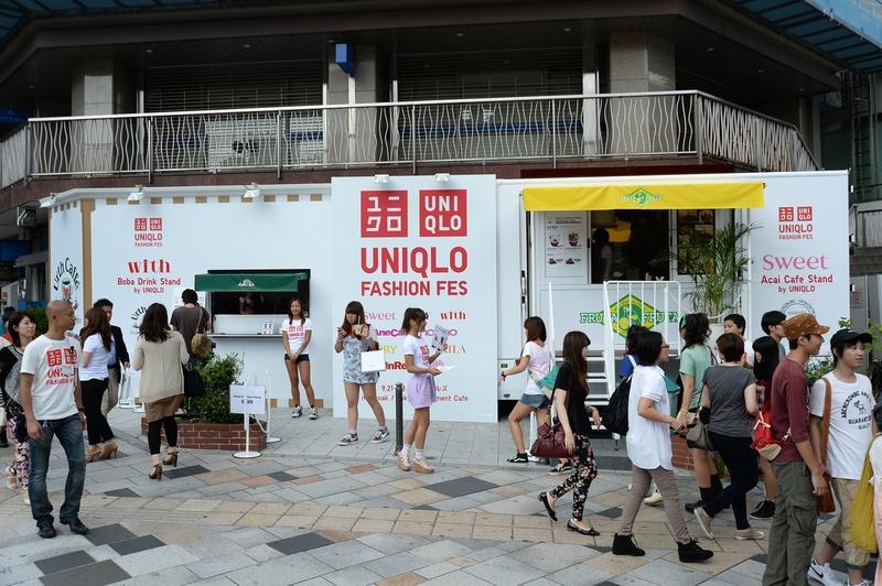 オーガニックコーヒーショップ「Urth Caffe(アースカフェ)」×『With』のドリンクスタンド「with Boba Drink Stand by UNIQLO」と「フルッタフルッタ」×『sweet』のスイーツスタンド「sweet Acai Bowl Stand by UNIQLO」のキッチンカー