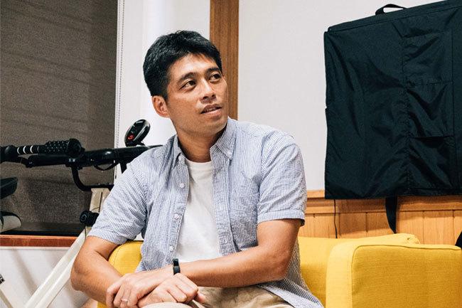 プランナーの奥村誠浩氏(電通)