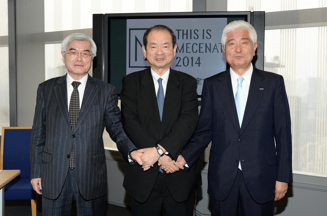 左から加藤、尾﨑、髙嶋の3氏