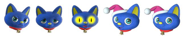 キャラクター例:猫モデル「なてし」
