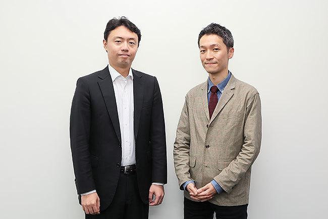 (左から)松尾豊特任准教授(東京大)、児玉拓也氏(電通)