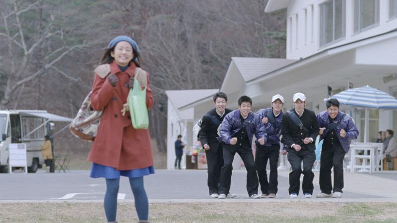 JR東日本「行くぜ、東北。」のテレビCMのワンシーン(2014年1月10日~2月6日放送)。 髙崎氏のアイデアは映像となって多くの人に届けられた。
