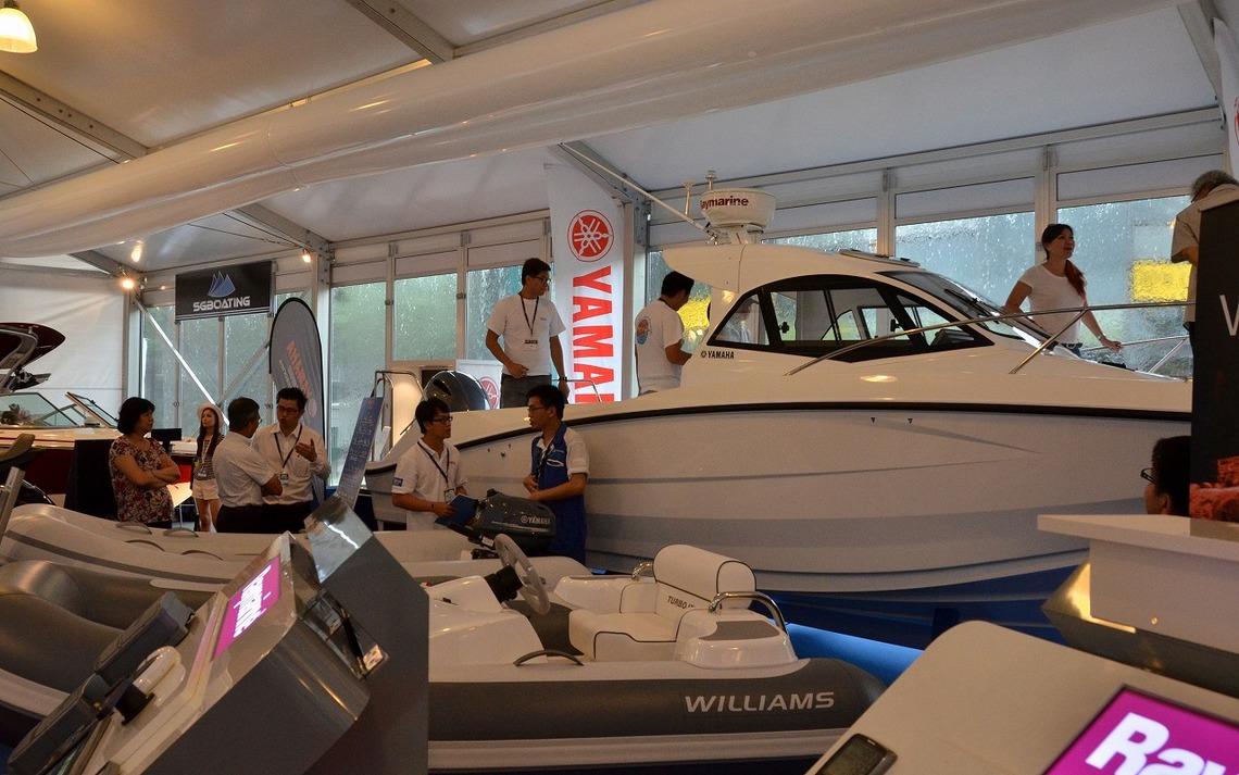 ヤマハ発動機のフィッシングボートは、富裕層の2台目需要として人気が高い