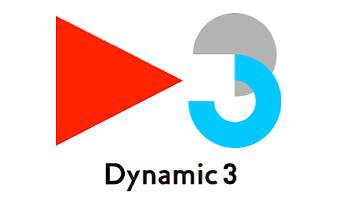 Dynamic3ロゴマーク