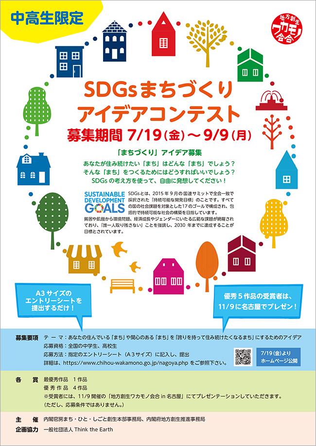 SDGsまちづくりアイデアコンテスト