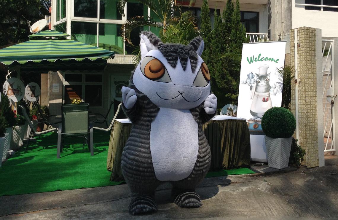 絵本のキャラクターで有名な「猫のダヤン」