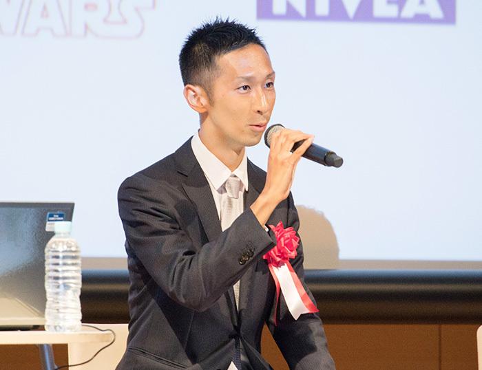 普段はオランダ・アムステルダムのフィリップス本社に在籍する藤井崇雄氏。日本に一時帰国したタイミングでパネルディスカッションに参加した。グローバル企業における、ダイナミックなコマースマーケティングの実践が紹介された。