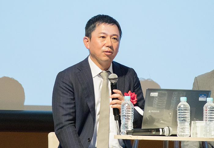 電通・コマースマーケティング2部長の根本淳氏。