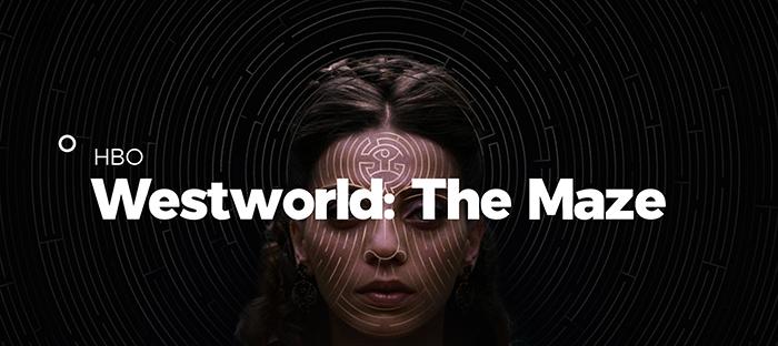 HBO制作の人気SFドラマ「WEST WORLD」のキャンペーン。