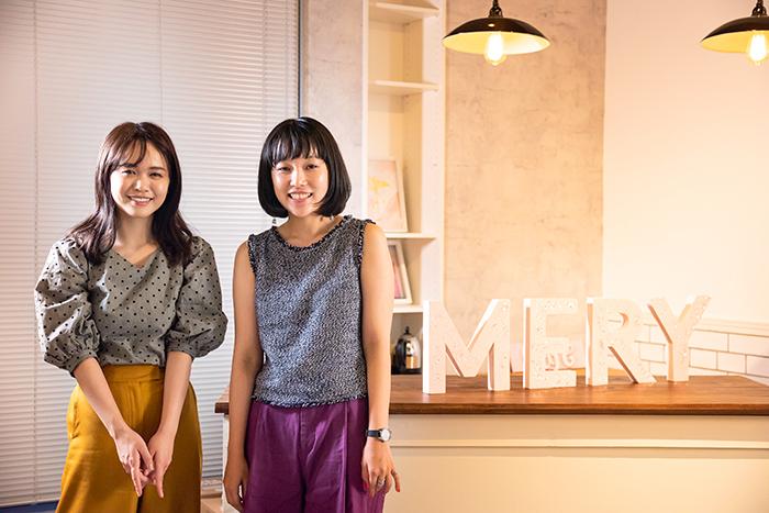ゆうこすさん(左)と望月菜穂子さん