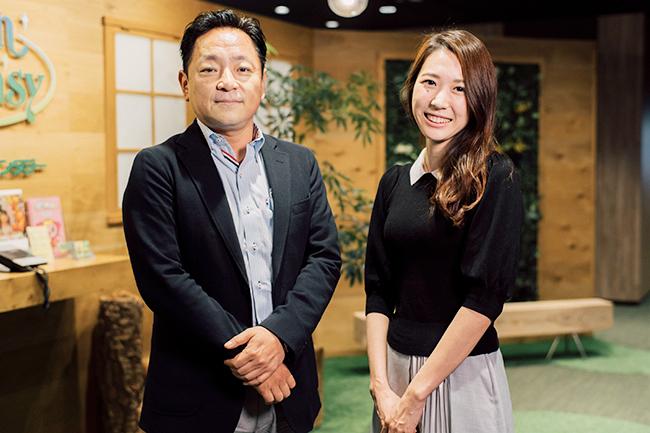 イオンファンタジー藤原信幸氏と電通BDS西井美保子氏
