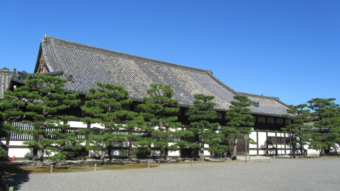 二の丸御殿台所外観(京都市提供)