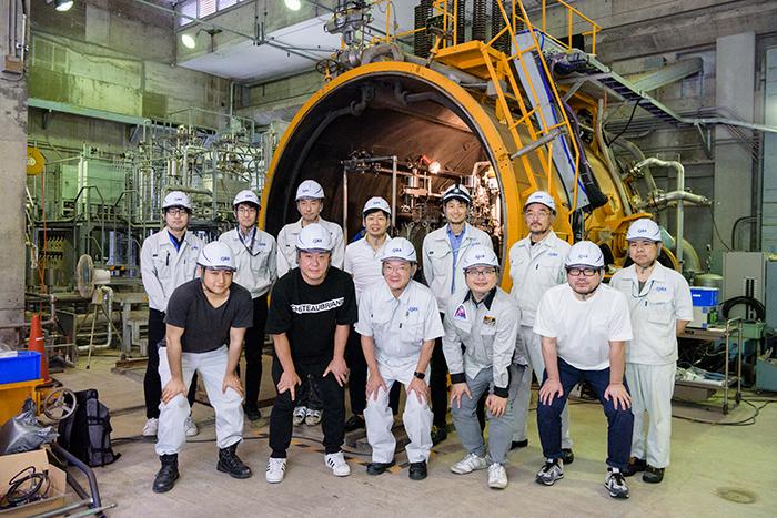 国の組織であるJAXAと、民間のISTが一緒に共創活動に取り組む角田宇宙センター。宇宙開発の流れが大きく変わりつつある。