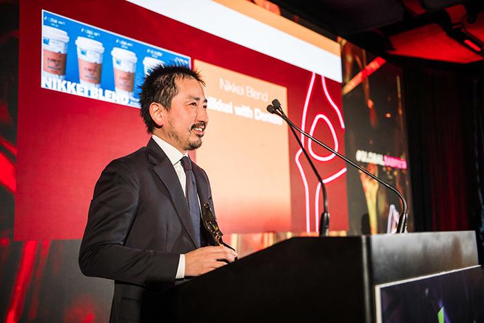 グローバルSABRE アワード授賞式の登壇者志村氏