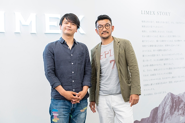 TBM山﨑敦義氏(右)と電通BDS澁江俊一氏