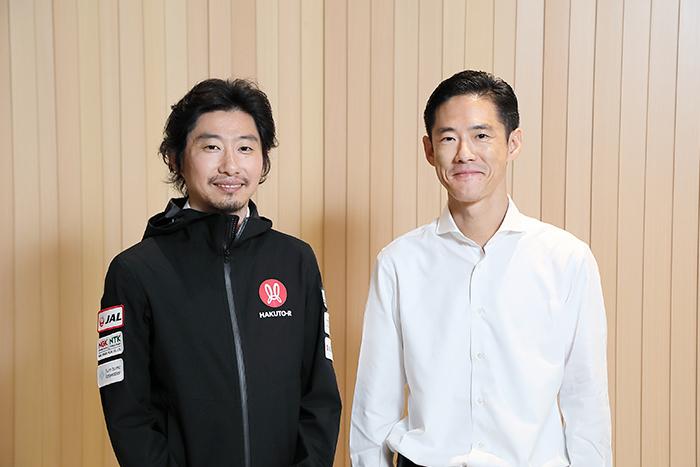 ispace袴田武史CEO、電通・後藤光彦