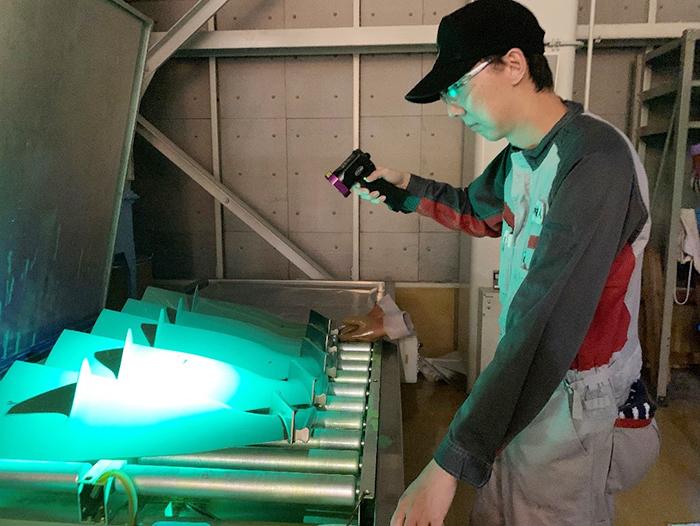 JALの溶接技術がHAKUTO-Rのランダー(月着陸船)に生かされている。