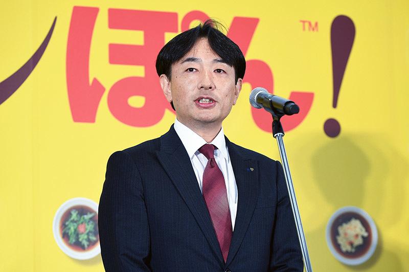 株式会社Mizkan 代表取締役副社長 兼 COO  岡田 誠治氏