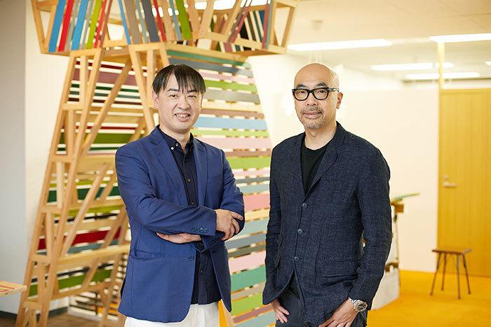 小林弘人氏と小西圭介氏