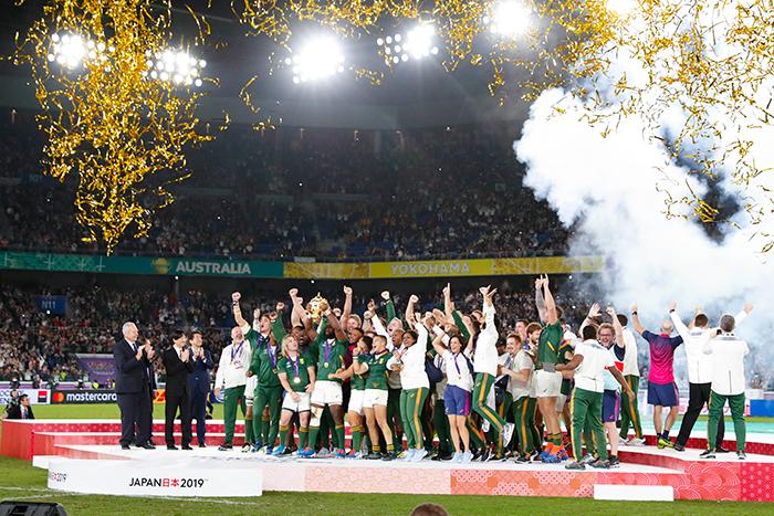 ラグビーワールドカップ南アフリカ優勝