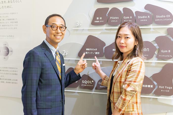 (左から)浦田哲郎氏、渡辺由貴恵氏