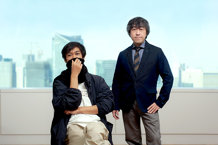 左から電通・橋本怜悦氏、電通パブリックリレーションズ・井口理氏