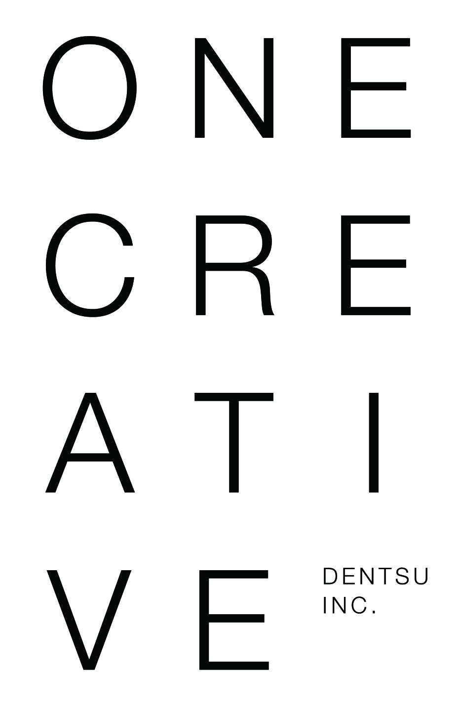 電通のクリエイターによるアート展「ONE CREATIVE」ポスター